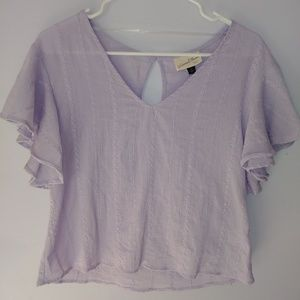 NWT Universal Thread Embroidered Crop Top XS